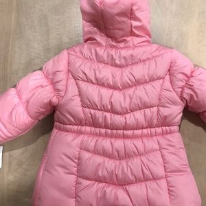 new oshkosh baby puffer coat jacket 9-12 with tags